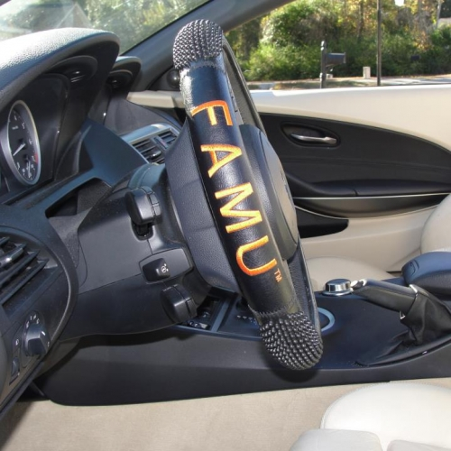 FAMU® ALUMNI VERSION LIMITED EDITION STEERING WHEEL COVER - $29.99